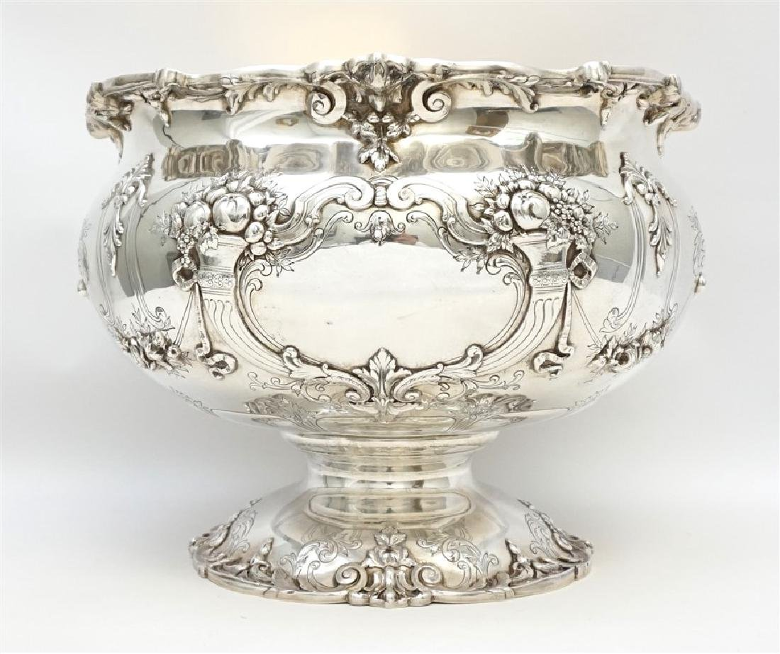 MONUMENTAL STERLING FRANCIS I PUNCH BOWL