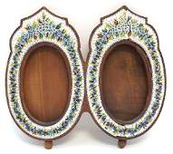 ITALIAN MICRO-MOSAIC DOUBLE PICTURE FRAME