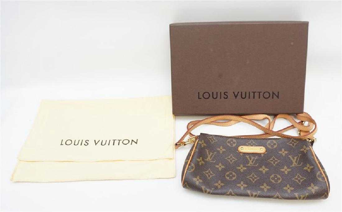 be6296d3781c LOUIS VUITTON EVA CLUTCH W DUST BAG   BOX