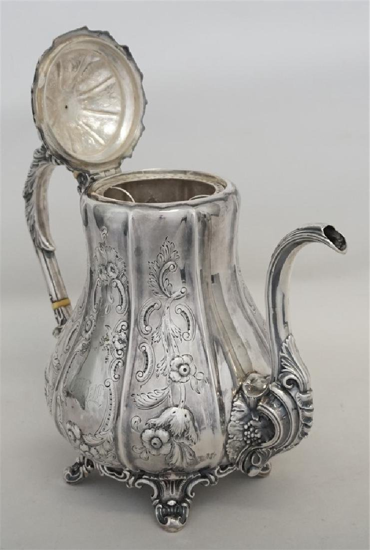 SOUTHERN COIN SILVER COFFEE POT CHARLESTON - 4