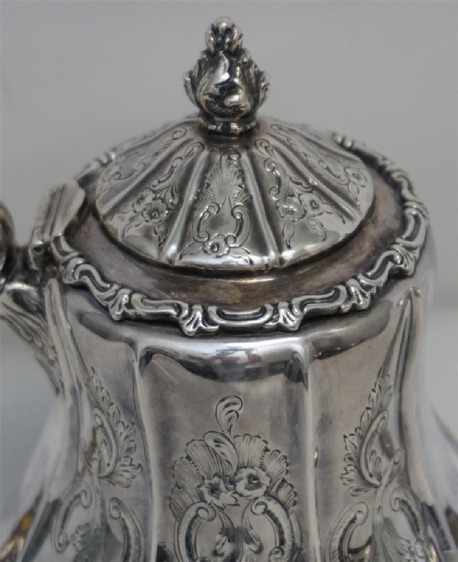 SOUTHERN COIN SILVER COFFEE POT CHARLESTON - 7