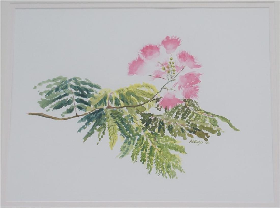 MIMOSA TREE WATERCOLOR M CONNELL-DE-RUTER - 2