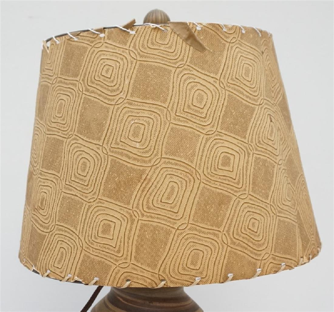 NILOAK MISSIONWARE POTTERY TABLE LAMP - 4