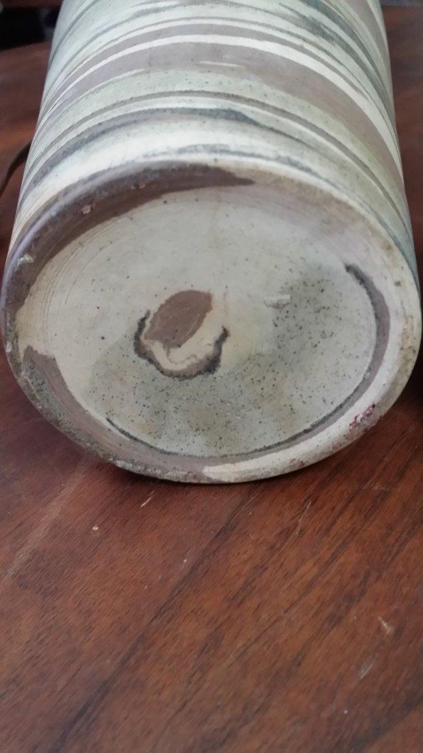 NILOAK MISSIONWARE POTTERY TABLE LAMP - 6