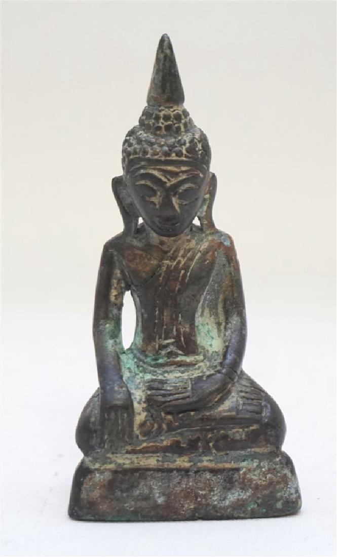 LAO BUDDHIST BRONZE BUDDHA