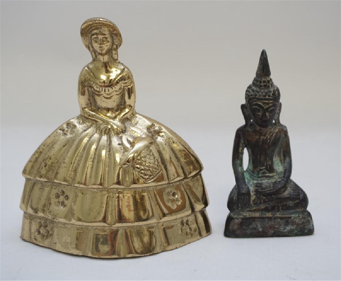 LAO BUDDHIST BRONZE BUDDHA - 6