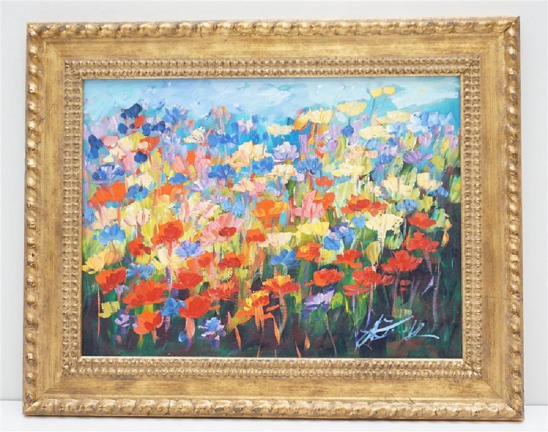 MALGORZATA MAGDALENA KRUK IMPRESSIONIST FLOWERS
