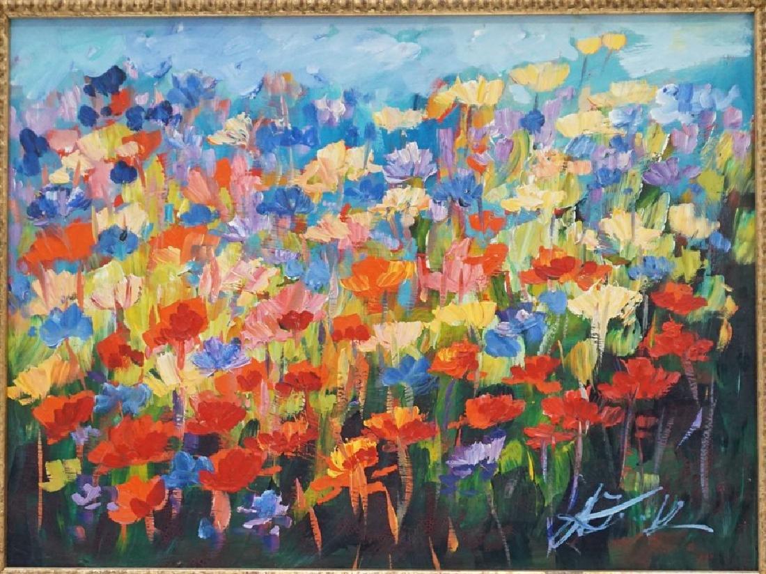 MALGORZATA MAGDALENA KRUK IMPRESSIONIST FLOWERS - 2
