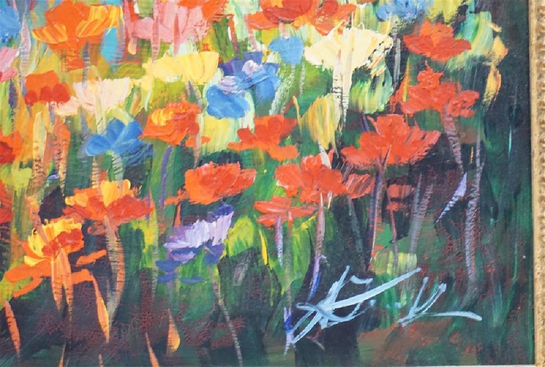 MALGORZATA MAGDALENA KRUK IMPRESSIONIST FLOWERS - 3