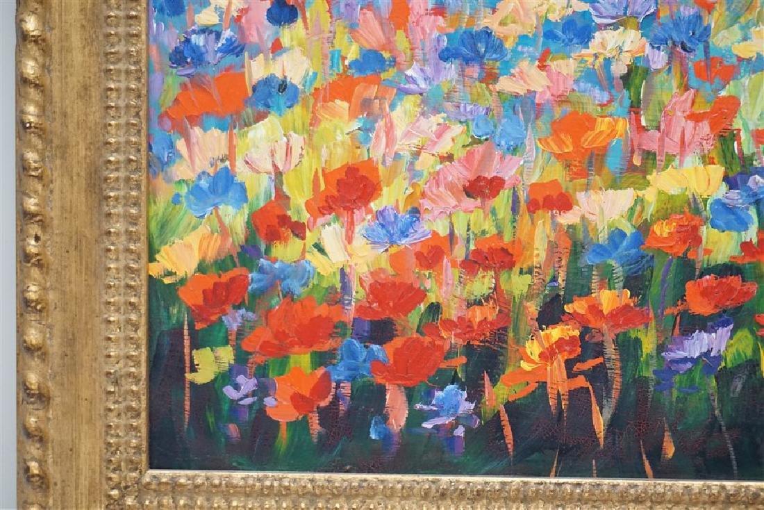 MALGORZATA MAGDALENA KRUK IMPRESSIONIST FLOWERS - 5