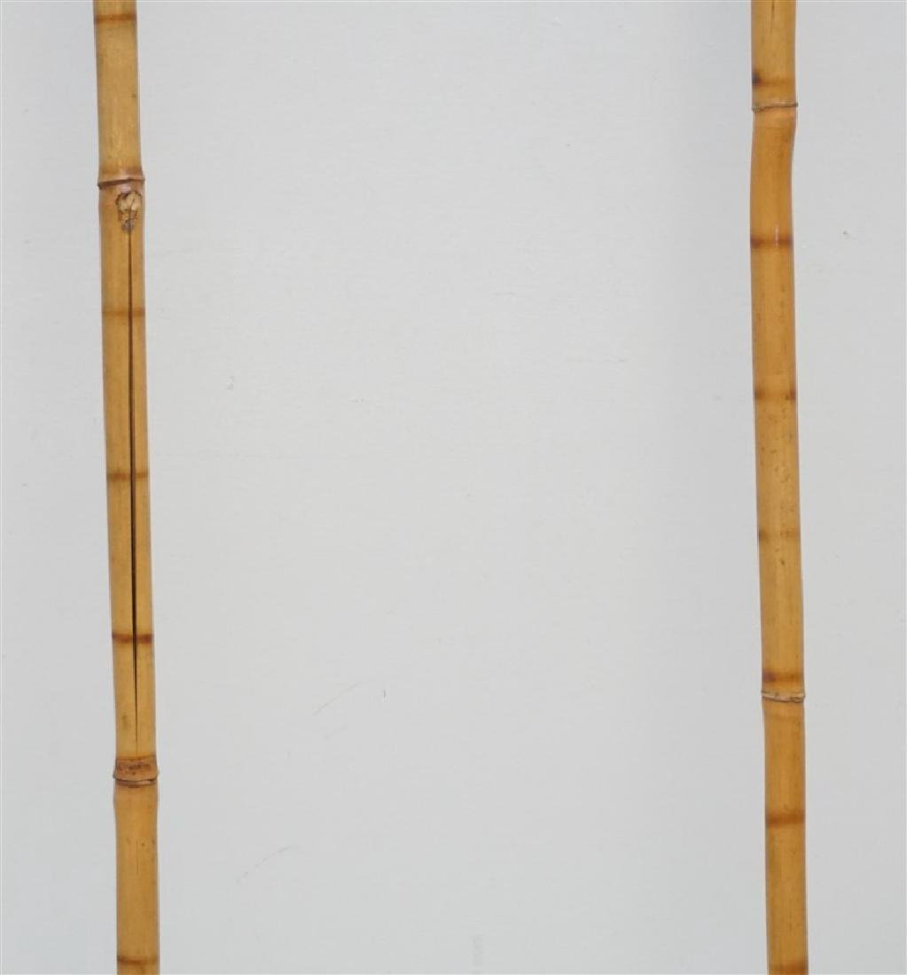 2PC VINTAGE BAMBOO CANES - 3