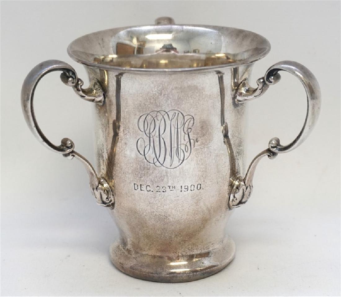 GORHAM STERLING SILVER 1900 TROPHY CUP