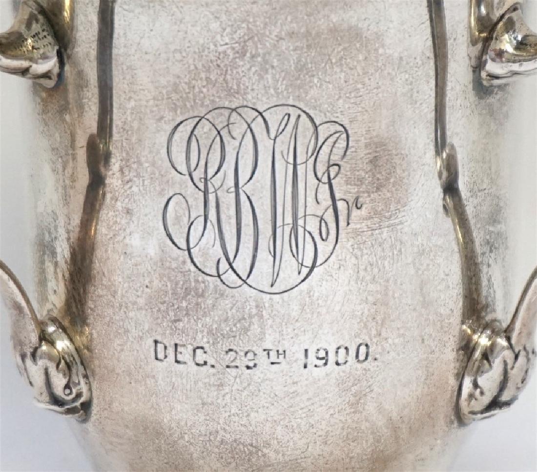 GORHAM STERLING SILVER 1900 TROPHY CUP - 2