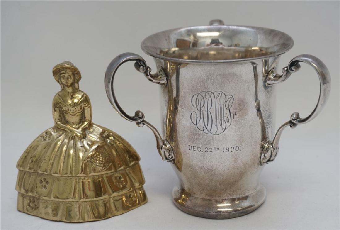 GORHAM STERLING SILVER 1900 TROPHY CUP - 7