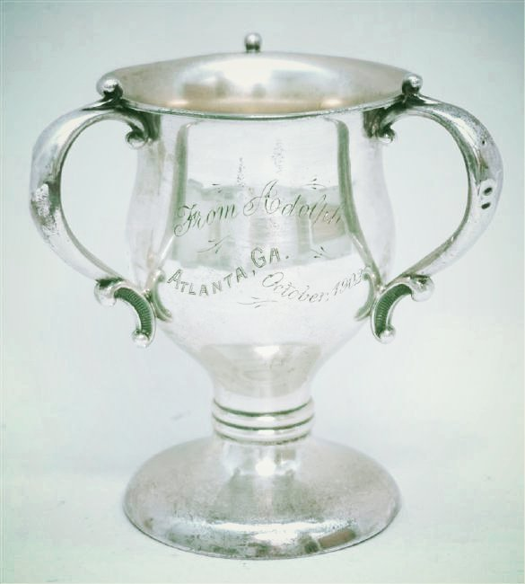 1902 STERLING SILVER LOVING CUP TROPHY