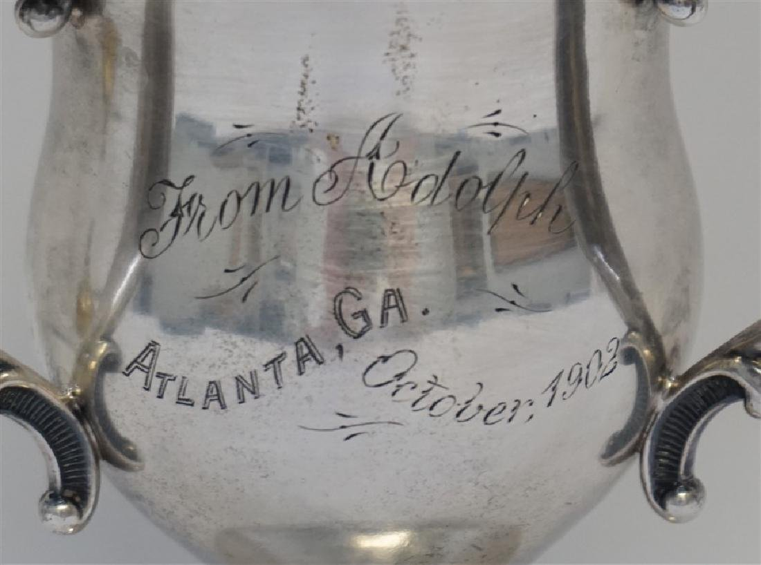 1902 STERLING SILVER LOVING CUP TROPHY - 2