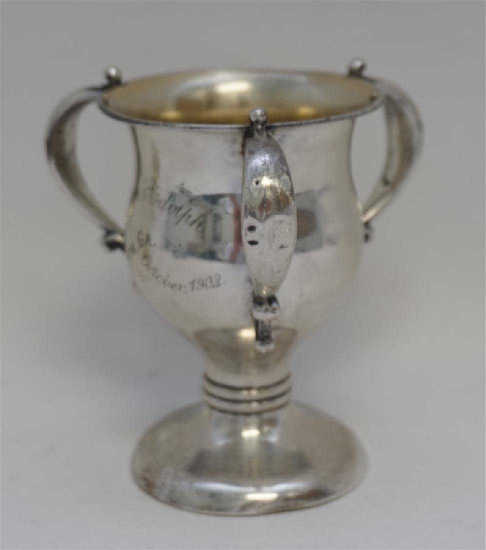 1902 STERLING SILVER LOVING CUP TROPHY - 4