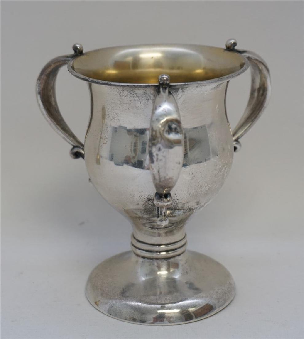 1902 STERLING SILVER LOVING CUP TROPHY - 6