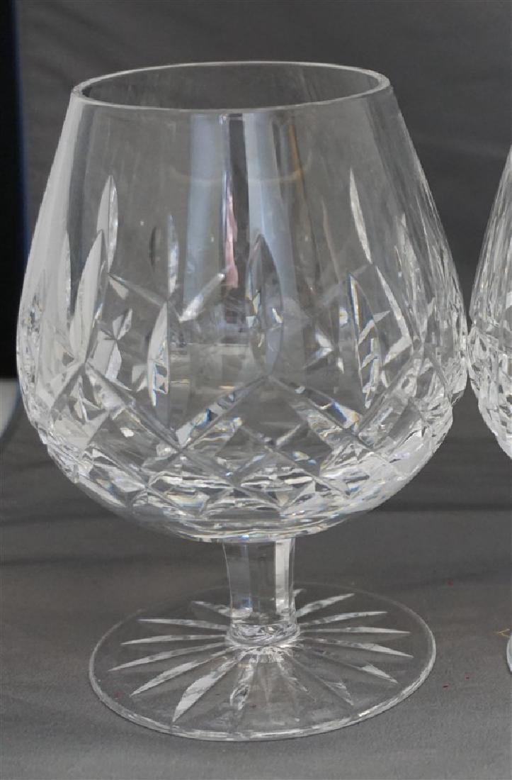 4PC WATERFORD CRYSTAL SNIFTERS - 3