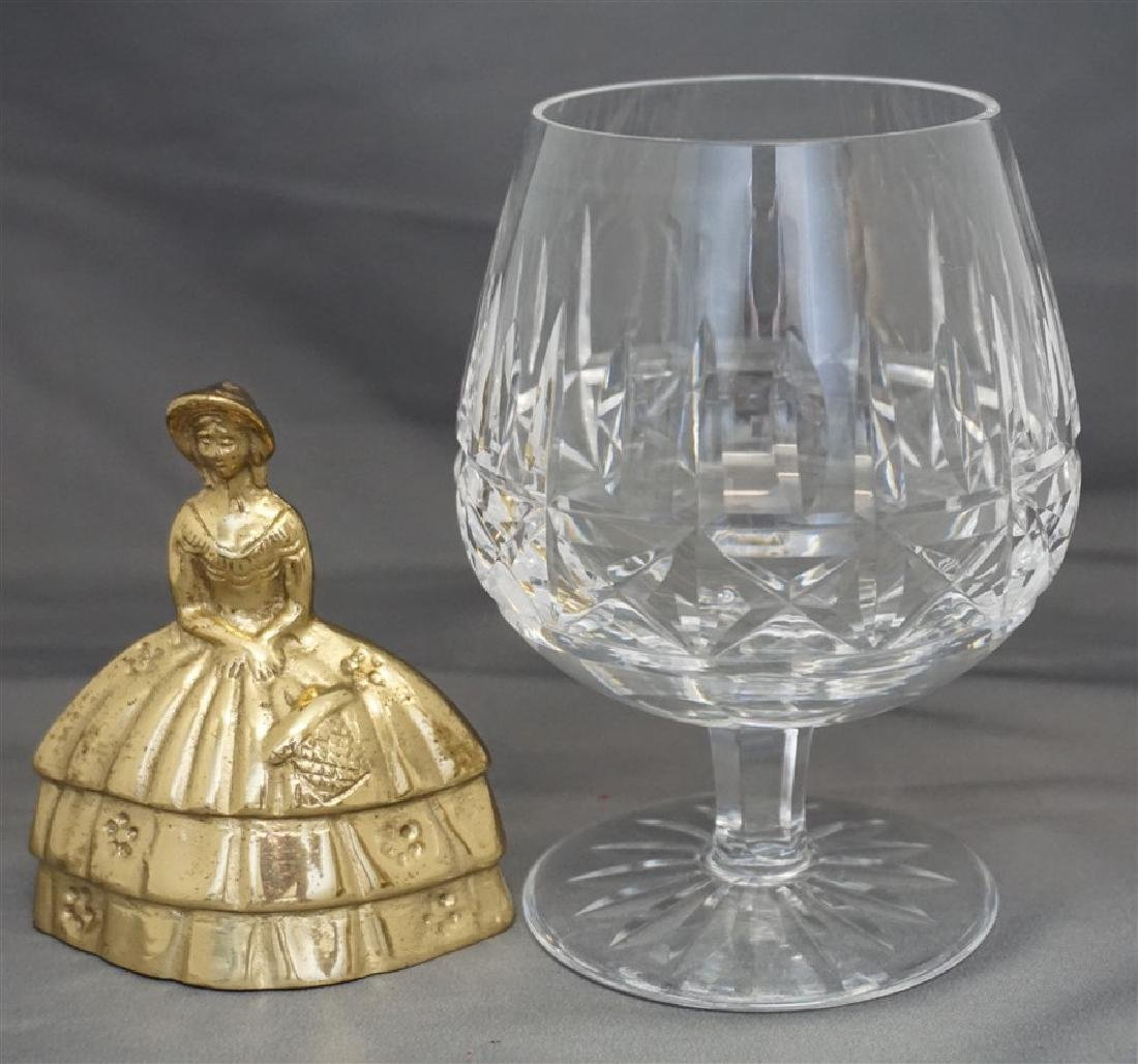 4PC WATERFORD CRYSTAL SNIFTERS - 7