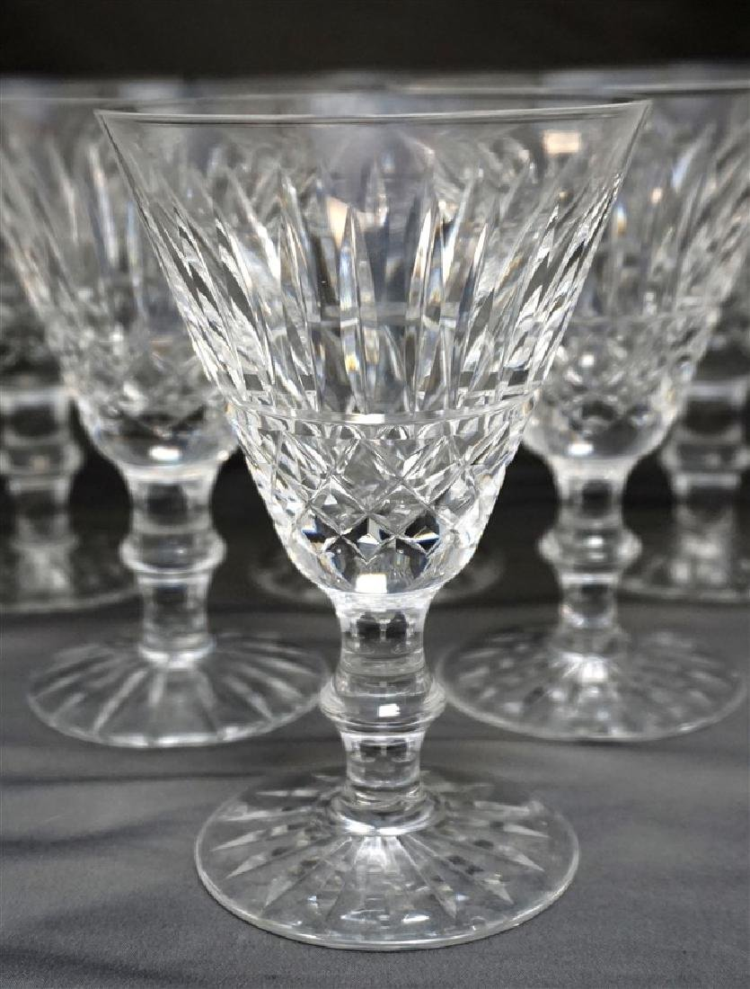 6 WATERFORD CRYSTAL TRAMORE CLARET WINE GLASSES - 3
