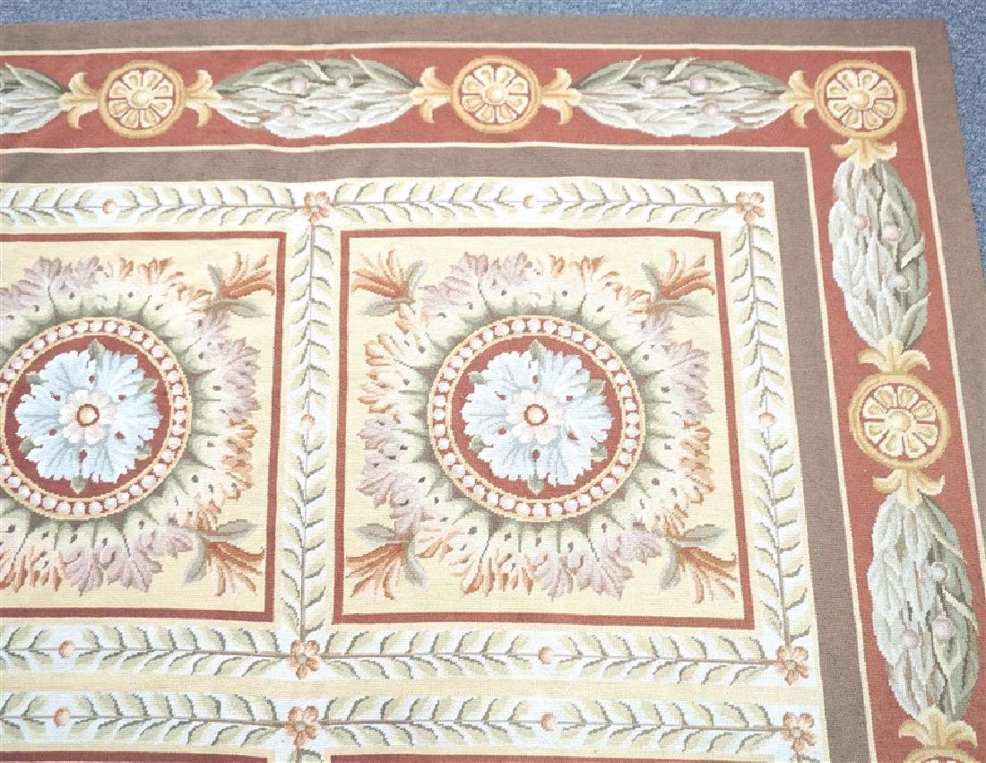 FRENCH SAVONNERIE RUG MEDALLIONS - 5
