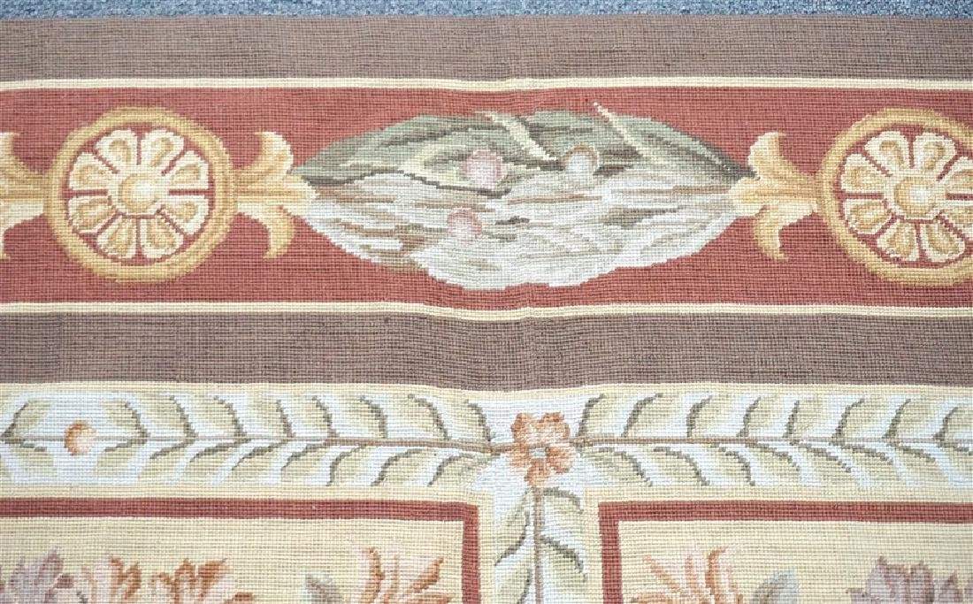 FRENCH SAVONNERIE RUG MEDALLIONS - 6