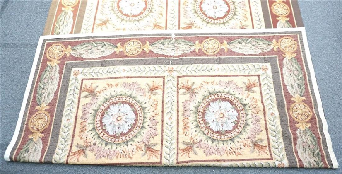 FRENCH SAVONNERIE RUG MEDALLIONS - 7