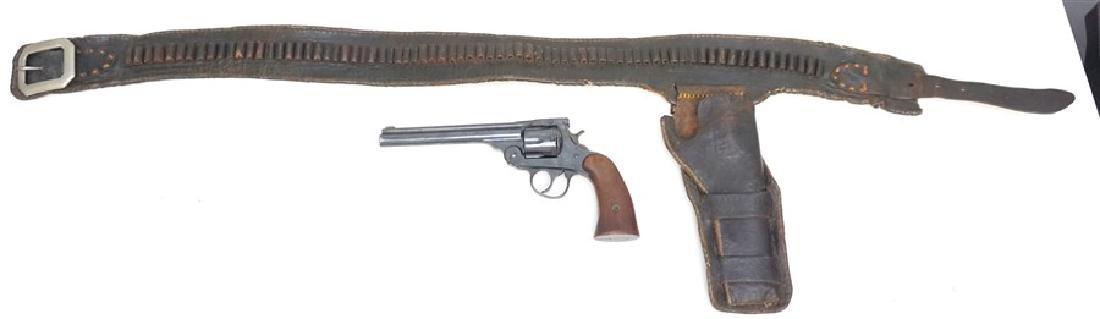 1928 COWBOY HARRINGTON & RICHARDSON 22 W BELT - 9