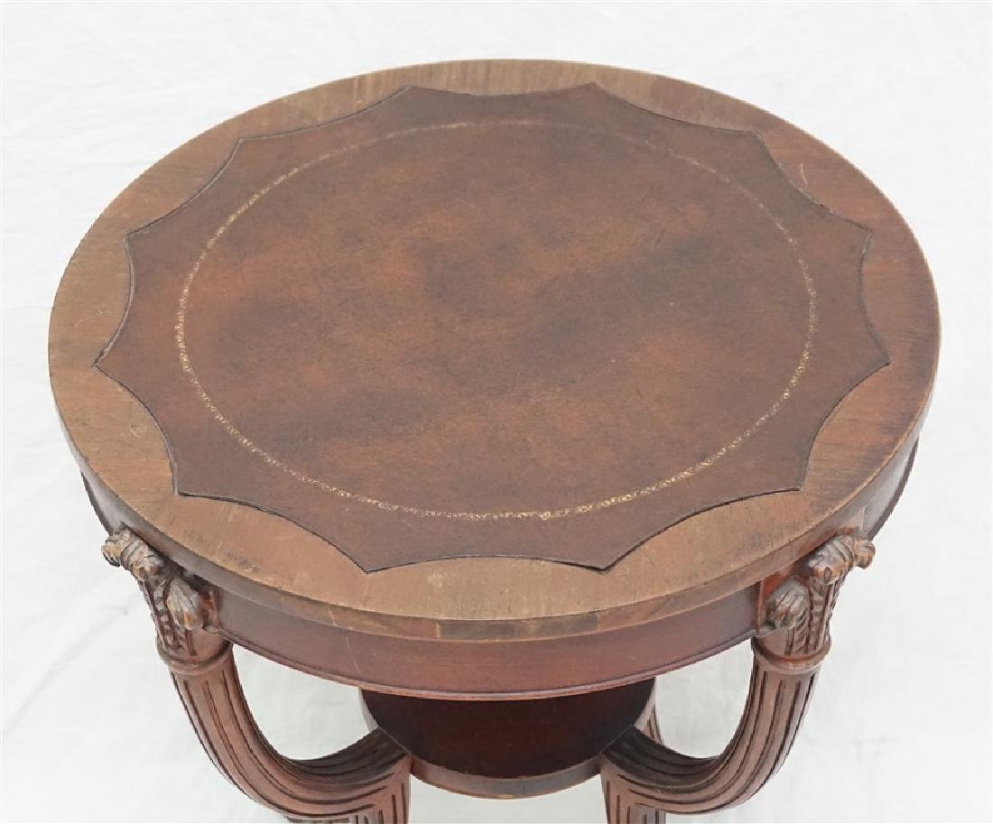 AMERICAN MAHOGANY OCCASIONAL TABLE - 2