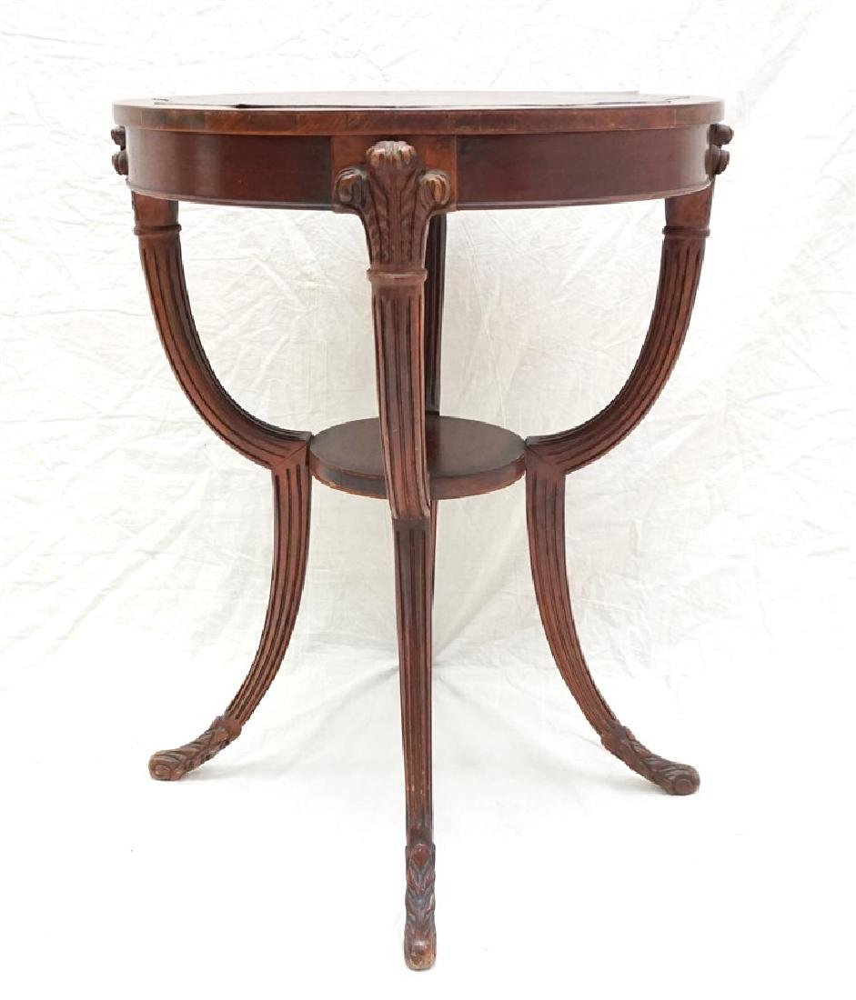 AMERICAN MAHOGANY OCCASIONAL TABLE - 3