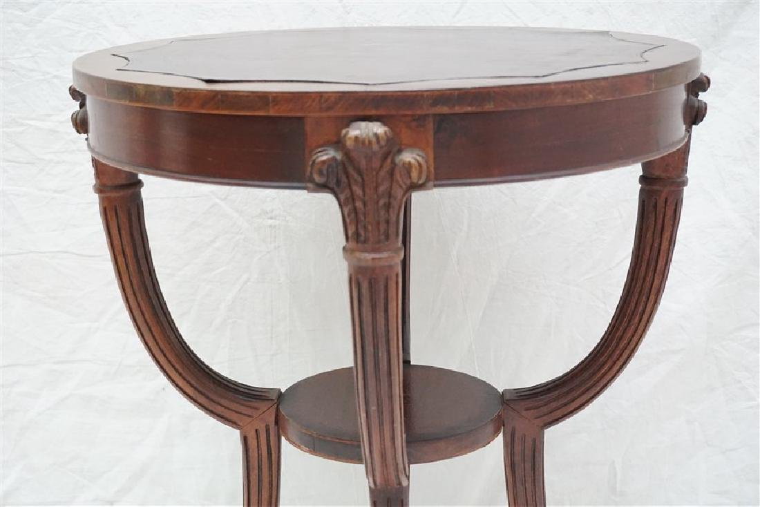 AMERICAN MAHOGANY OCCASIONAL TABLE - 4