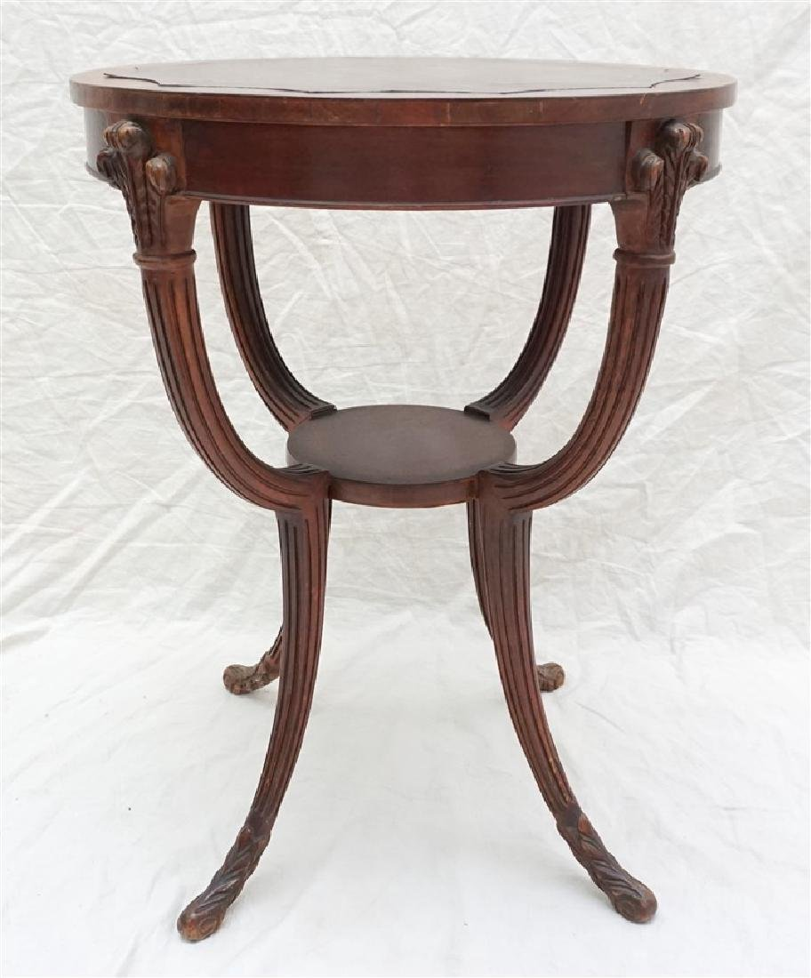AMERICAN MAHOGANY OCCASIONAL TABLE - 5