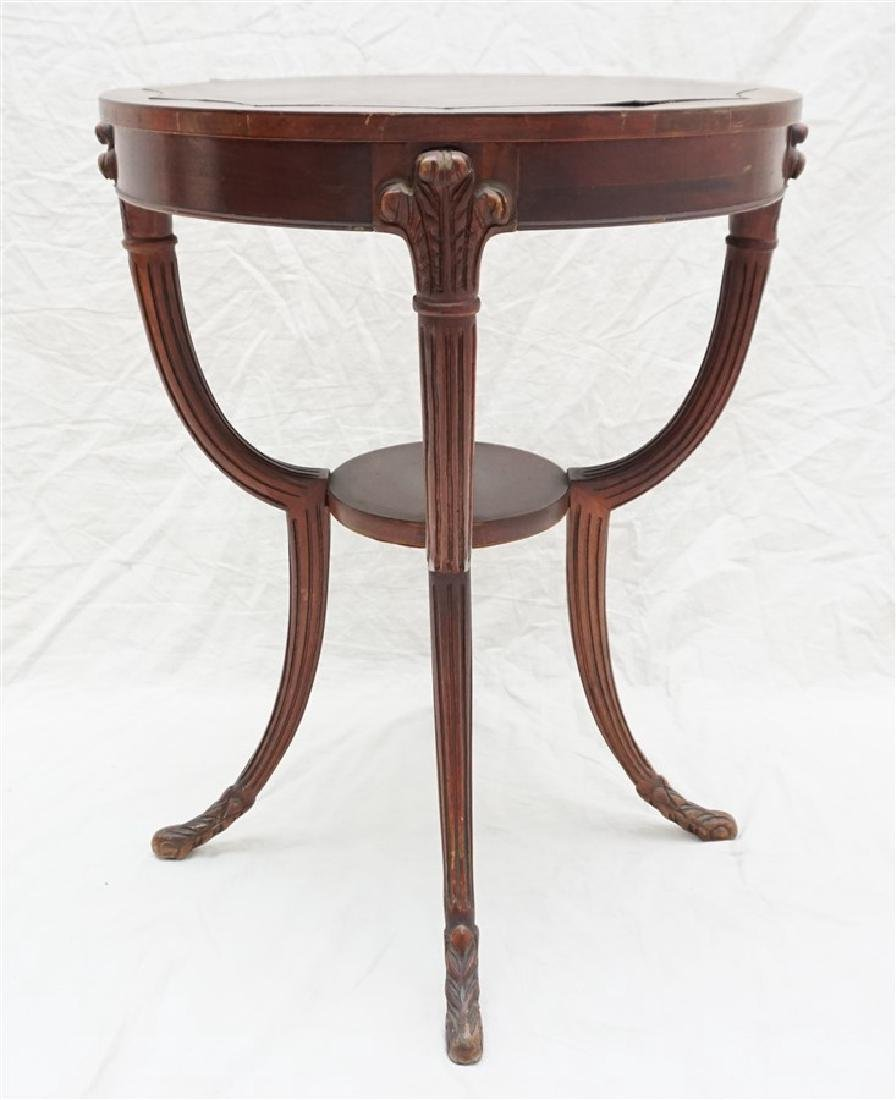 AMERICAN MAHOGANY OCCASIONAL TABLE - 6