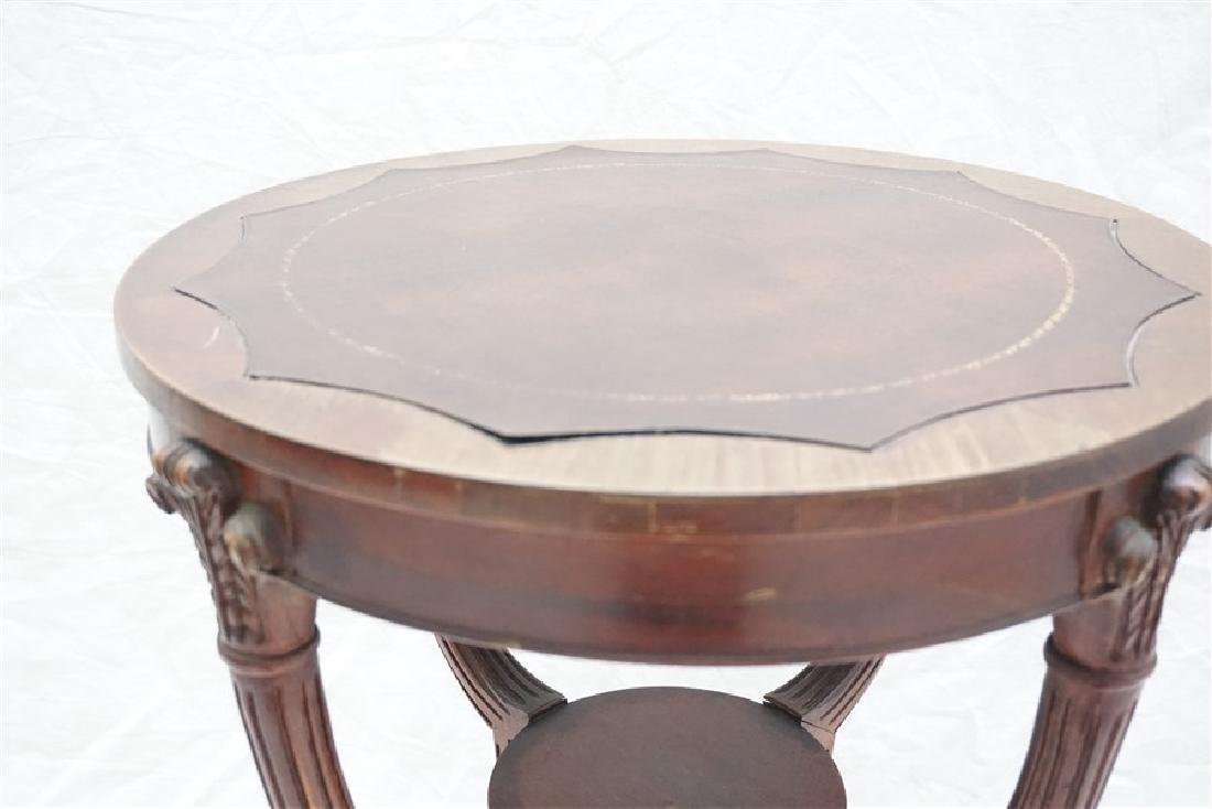 AMERICAN MAHOGANY OCCASIONAL TABLE - 7