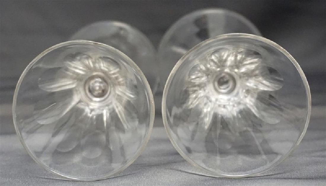 PAIR GEORGIAN c. 1800 PORT GLASSES - 7