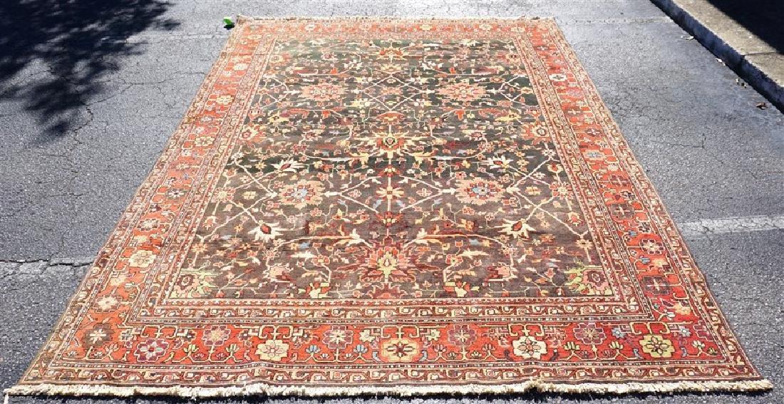 9x12 ANTIQUE ISFAHAN PERSIAN CARPET