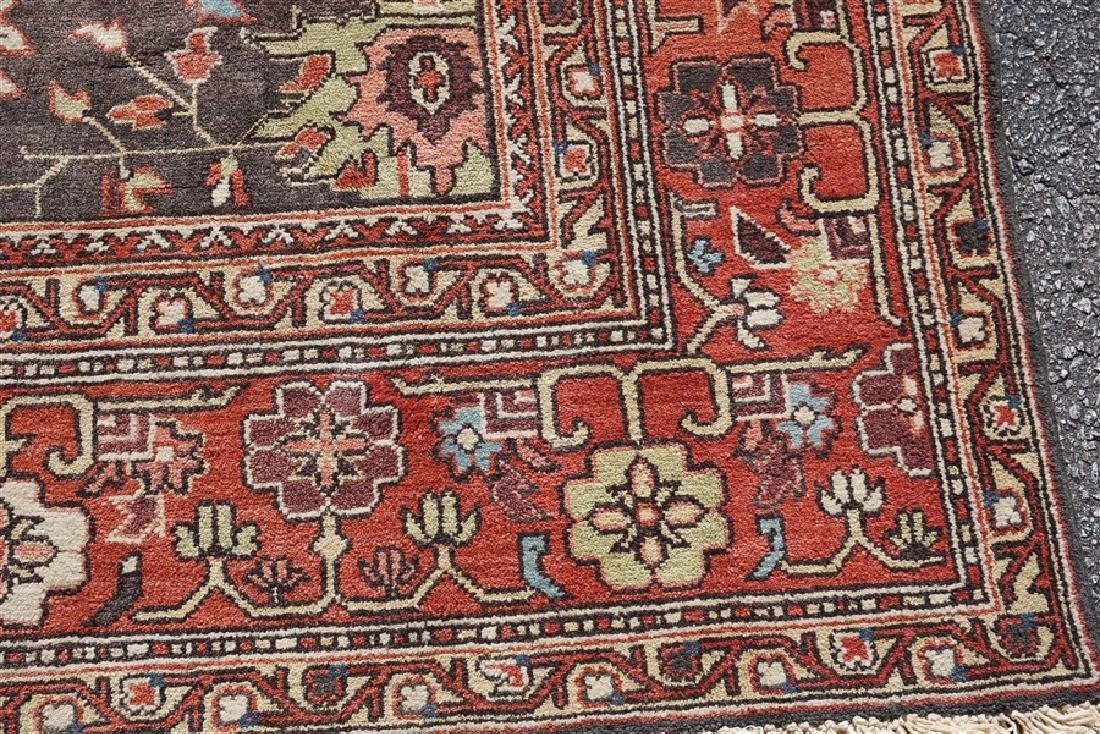 9x12 ANTIQUE ISFAHAN PERSIAN CARPET - 3