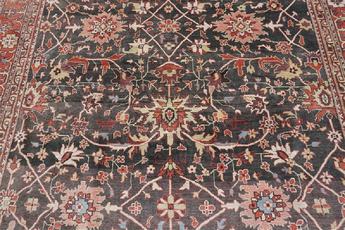 9x12 ANTIQUE ISFAHAN PERSIAN CARPET - 4