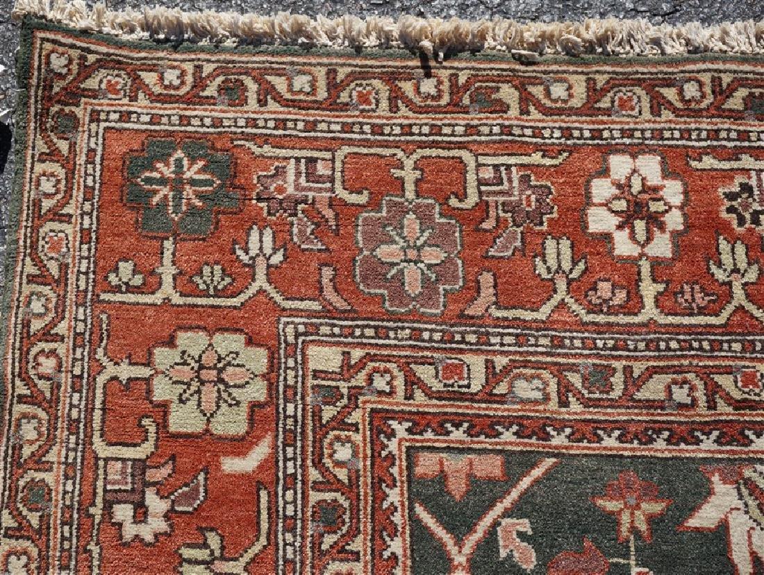 9x12 ANTIQUE ISFAHAN PERSIAN CARPET - 7