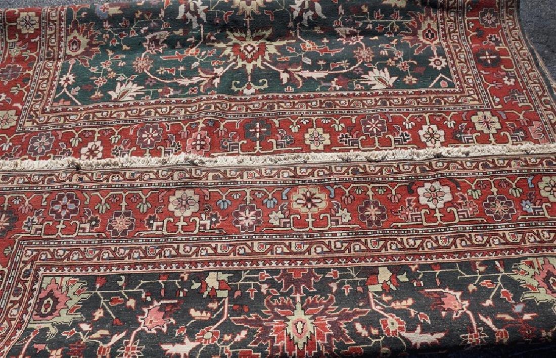 9x12 ANTIQUE ISFAHAN PERSIAN CARPET - 8
