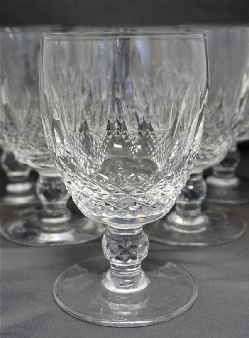 6 WATERFORD CRYSTAL COLLEEN WATER GOBLETS - 2