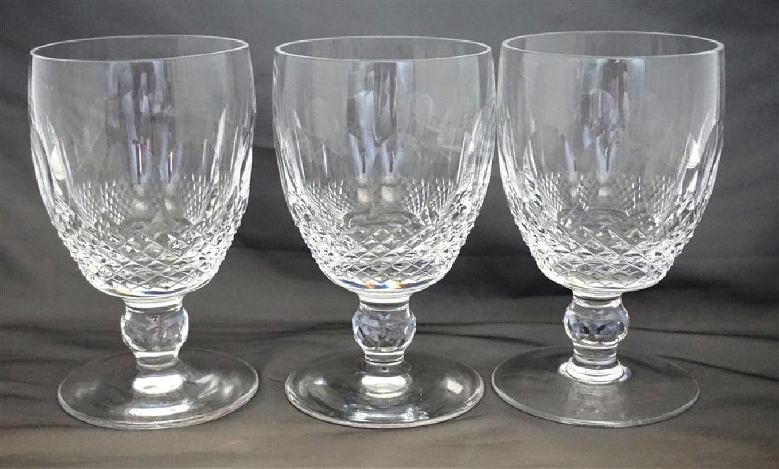6 WATERFORD CRYSTAL COLLEEN WATER GOBLETS - 4