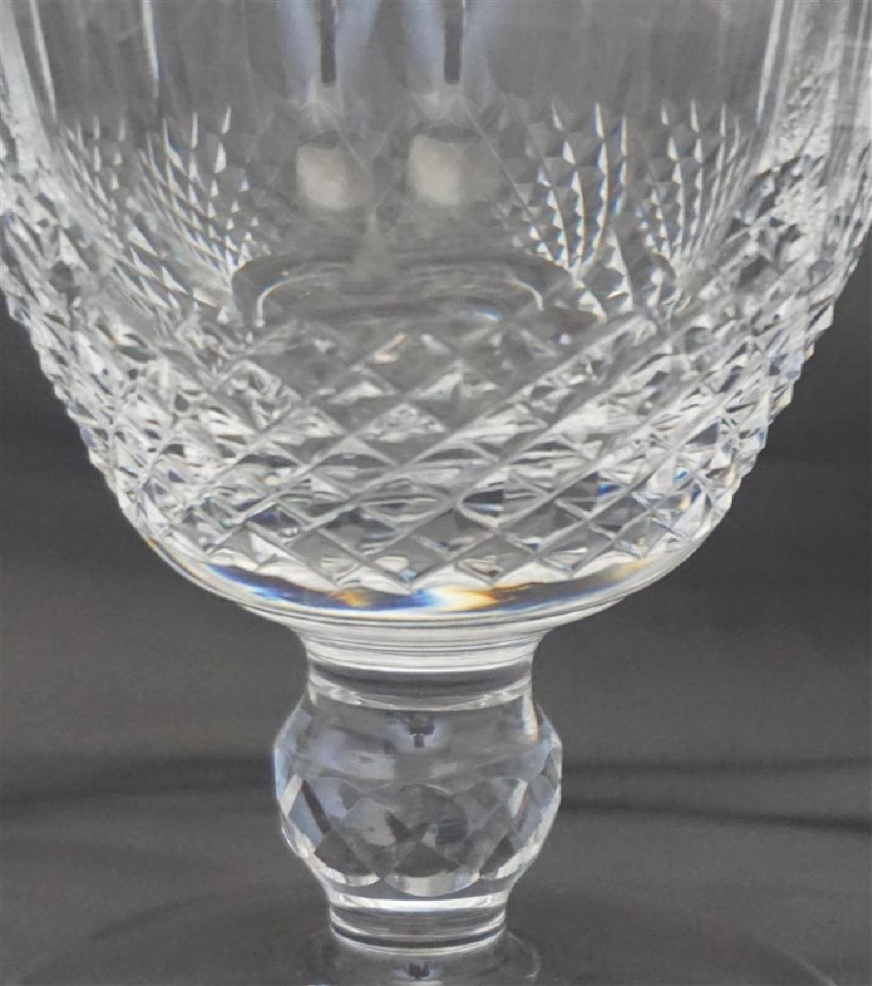 6 WATERFORD CRYSTAL COLLEEN WATER GOBLETS - 5
