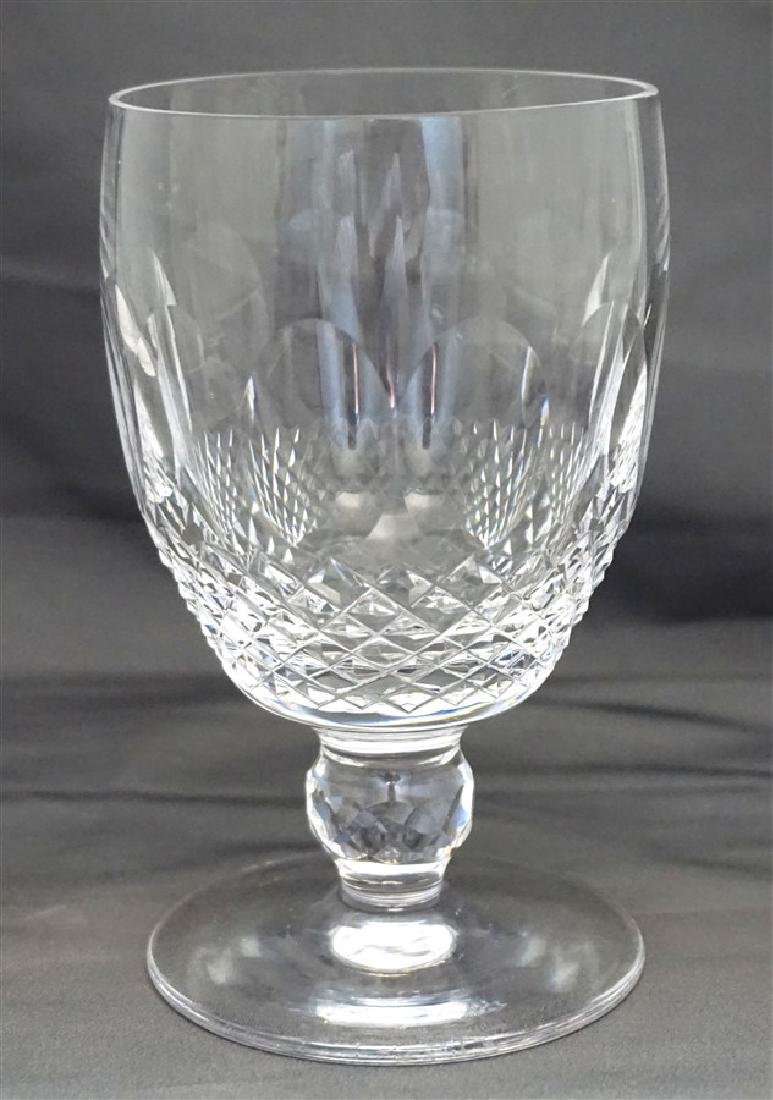 6 WATERFORD CRYSTAL COLLEEN WATER GOBLETS - 7