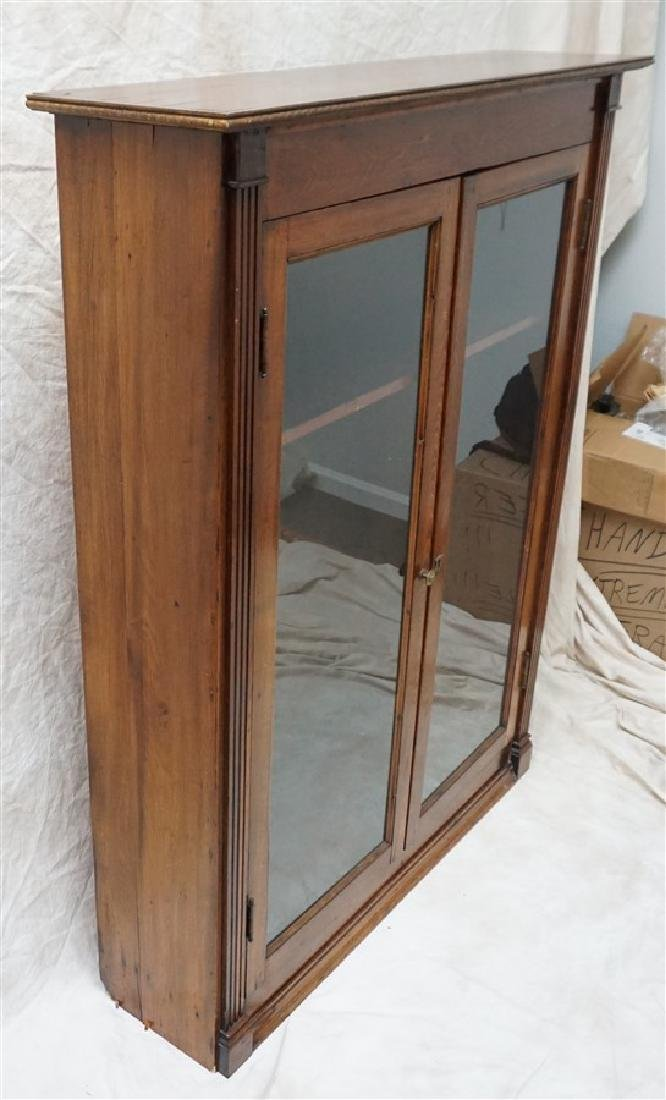 ANTIQUE AMERICAN OAK BOOKCASE - 3