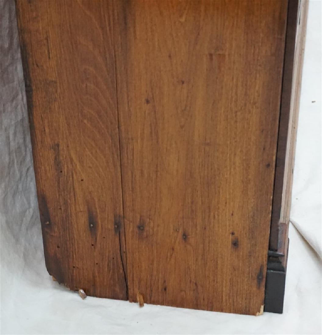 ANTIQUE AMERICAN OAK BOOKCASE - 7