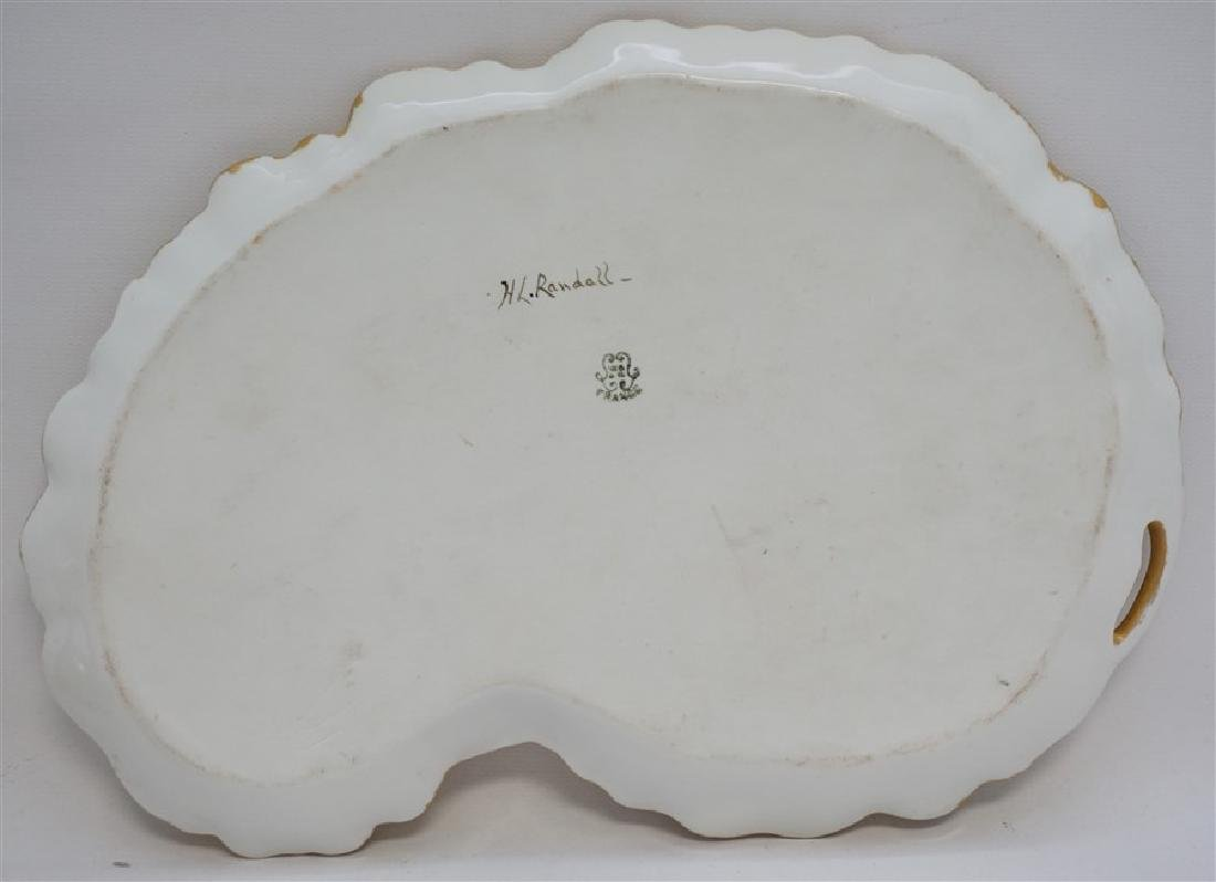 LIMOGES HAND PAINTED PORCELAIN DRESSER TRAY - 7