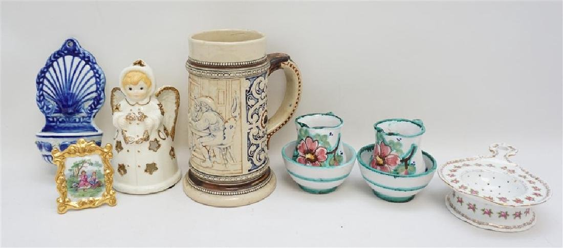 7 pc VTG POTTERY & PORCELAIN LOT