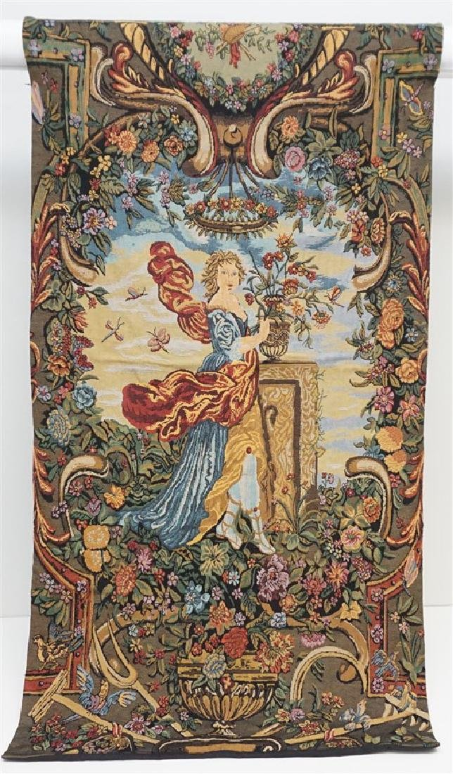 FRENCH ROMANTIC TAPESTRY